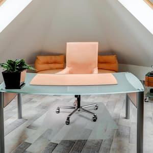 Unomat® Anti-Slip Lipped Chair Mat Hard Floors and Carpet Tiles - 35 x 47 in.