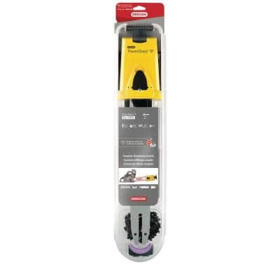 16 in. PowerSharp Chain and Bar Starter Kit, PS55 Chain, 0.050-Gauge 3/8 in. Low Profile Chain