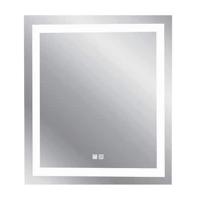 30 in. x 24 in. Modern Rectangle Frameless Decorative Mirror