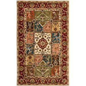 Heritage Multi/Red 6 ft. x 9 ft. Area Rug