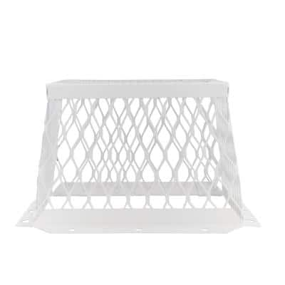 VentGuard 7 in. x 7 in. Kitchen and Bathroom Wildlife Exclusion Screen in White