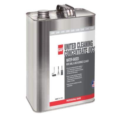 United Cleaning Concentrate 1 Gal. Environmentally Friendly Multipurpose Cleaner for Exterior Surfaces