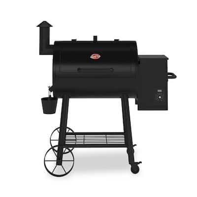 Wood Pro Pellet Grill in Black