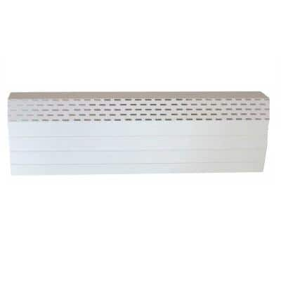 80/09 Tall Series 6 ft. Hot Water Hydronic Baseboard Cover (Not for Electric Baseboard)