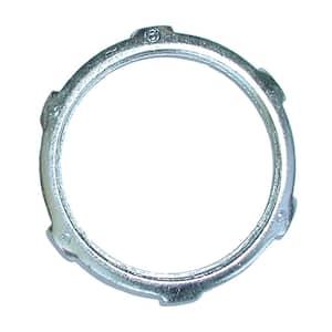 1-1/2 in. Steel Rigid Conduit Locknuts (100-Pack)