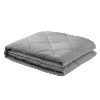 Deka 2-in-1 Warm and Cool Grey Weighted Blanket 6 lbs. 41 in. x 60 in.