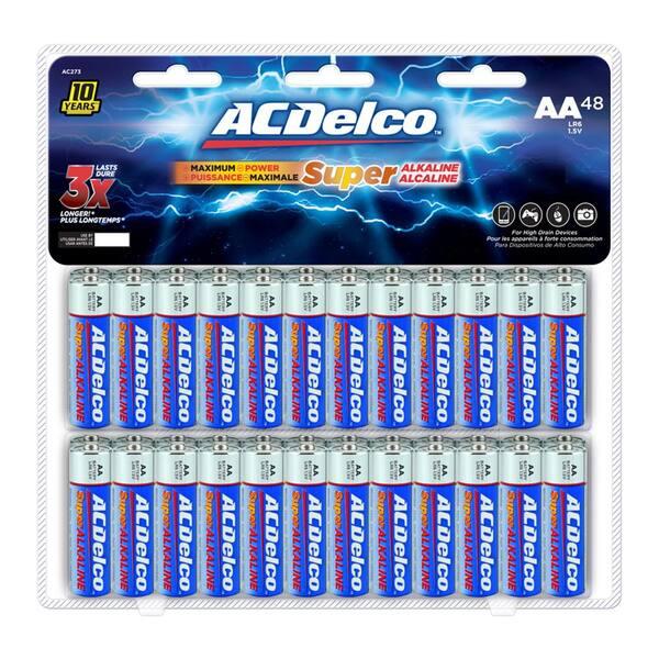 Acdelco Super Alkaline Aa Batteries Review