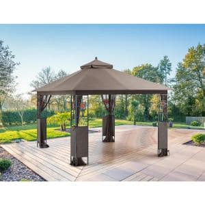 10 ft. x 12 ft. RosaBella Gazebo with Mosquito Net