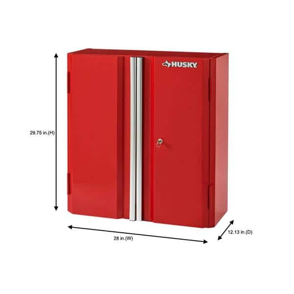 Husky Ready To Assemble 23 Gauge Steel, Wall Mounted Storage Cabinets Home Depot