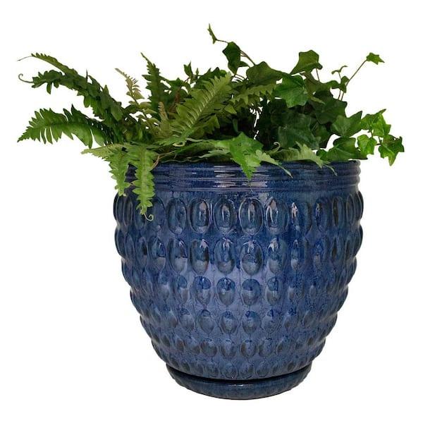 30/'s Potlatch Pottery Vase Matte Blue 40/'s Indigo Hourglass Shape Modern Design Retro Decor Seattle Washington State Pacific Northwest Art