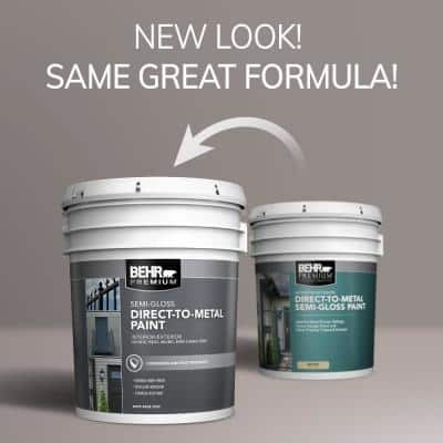 5 gal. #S200-6 Timeless Copper Semi-Gloss Direct to Metal Interior/Exterior Paint