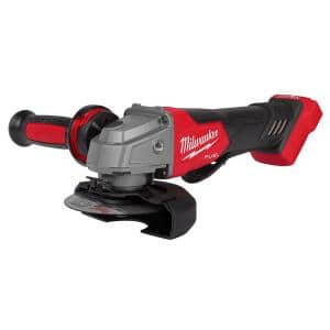 M18 FUEL 18-Volt Lithium-Ion Brushless Cordless 4-1/2 in./5 in. Grinder w/Paddle Switch (Tool-Only)