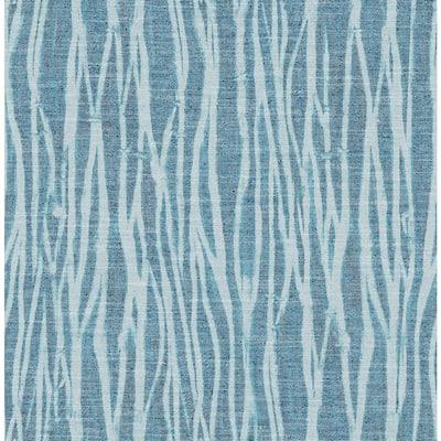 Nazar Indigo Stripe Wallpaper Sample