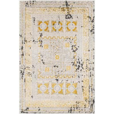 5 X 7 Yellow Area Rugs Rugs The Home Depot
