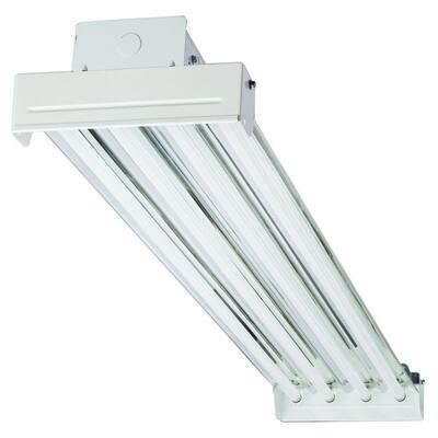 IBC 454 MV 4-Light T5 White High Output Fluorescent High Bay