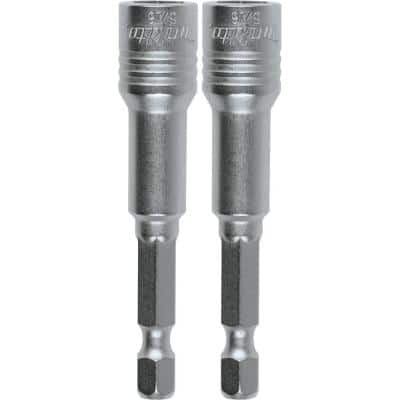 IMPACT XPS 2-9/16 in. Magnetic 5/16 in. Nutsetter (2-Pack)