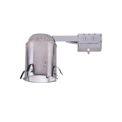 H550 5 in. Aluminum LED Recessed Lighting Housing for Remodel Ceiling, T24 Compliant, Insulation Contact, Air-Tite