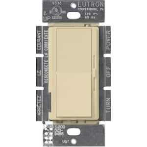 Diva 1.5 Amp Single-Pole/3-Way 3-Speed Fan Control, Ivory