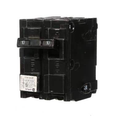 10 Amp Double-Pole Type QP Circuit Breaker