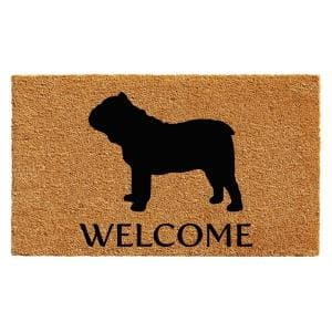 Bull Dog 24 in. x 36 in. Door Mat