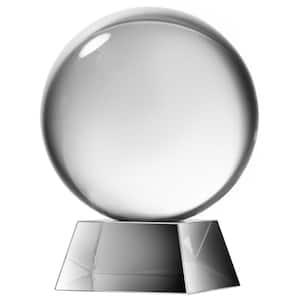 6 in. Society Chic Glass Sphere Decorative Statue