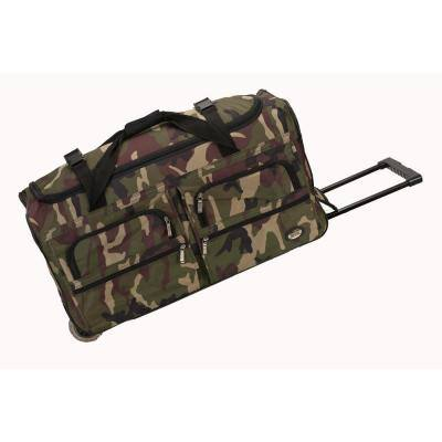 Voyage 30 in. Rolling Duffle Bag, Camo