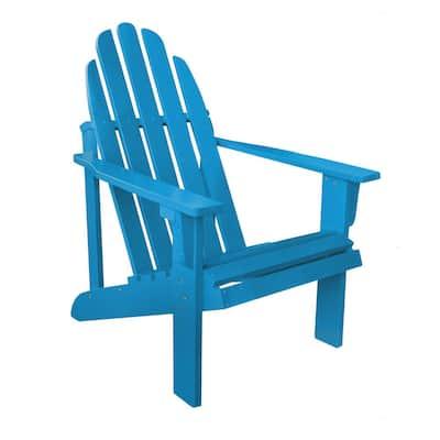 Catalina Cedar Wood Adirondack Chair - Turquoise