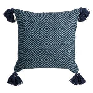 Diamond Weave Square Outdoor Throw Pillow (2-Pack)