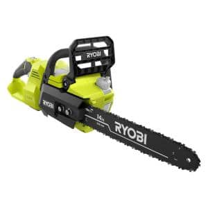 14 in. 40-Volt Cordless Battery Brushless Lithium-Ion Chainsaw (Tool Only)
