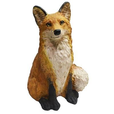 15 in. Fox Garden Statue