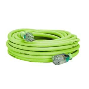 50 ft. 10/3 AWG SJTW Pro Extension Cord with Lighted Plug