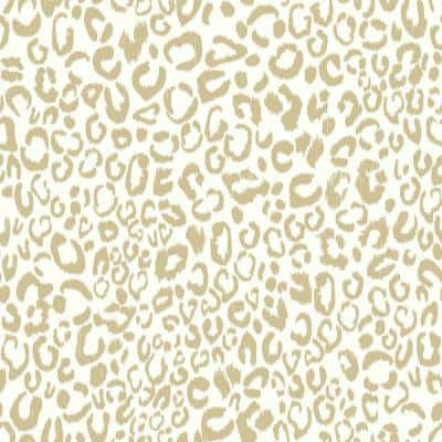 Leopard Peel and Stick Wallpaper (Covers 28.18 sq. ft.)