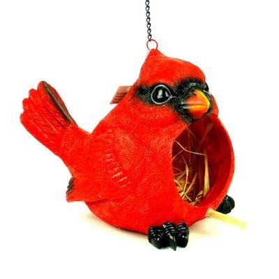 Red Cardinal Birdhouse