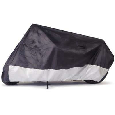 Waterproof 86 in. x 44 in. x 44 in. Size MC-0 Outdoor Motorcycle Cover