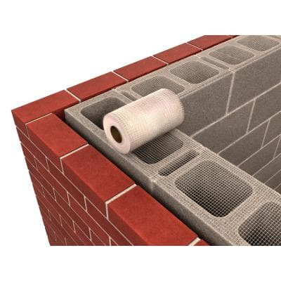 100 ft. x 8 in. Plastic Mortar Mesh Grout Stop