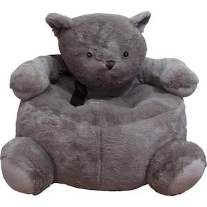 Brown Plush Kids Bear Chair