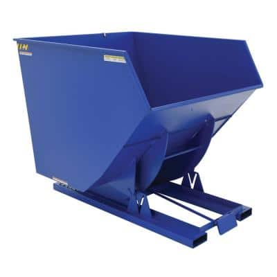 6,000 lbs. Capacity 3.5 cu. yds. Heavy Duty Self-Dump Hopper