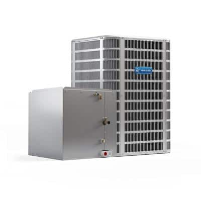 Signature 18,000 BTU 1.5 Ton 14 SEER Central Split System A/C Only Condenser and Vertical 'A' Coil - 208-Volt/230-Volt