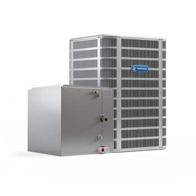 Signature 24,000 BTU 14.5 SEER Central Split System A/C Only Condenser and Vertical 'B' Coil - 208/230-Volt
