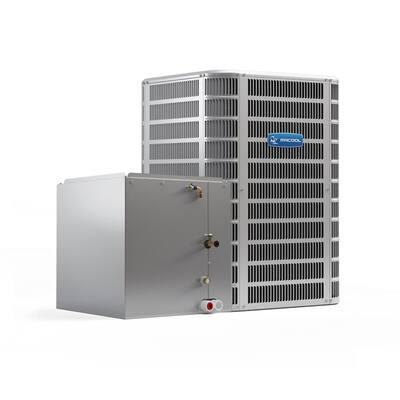 Signature 46,000 BTU 14 SEER Central Split System A/C Only Condenser and Vertical 'C' Coil - 208/230-Volt