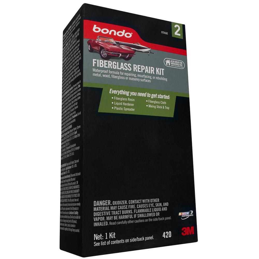 Bondo 8 oz. Fiberglass Resin Repair Kit