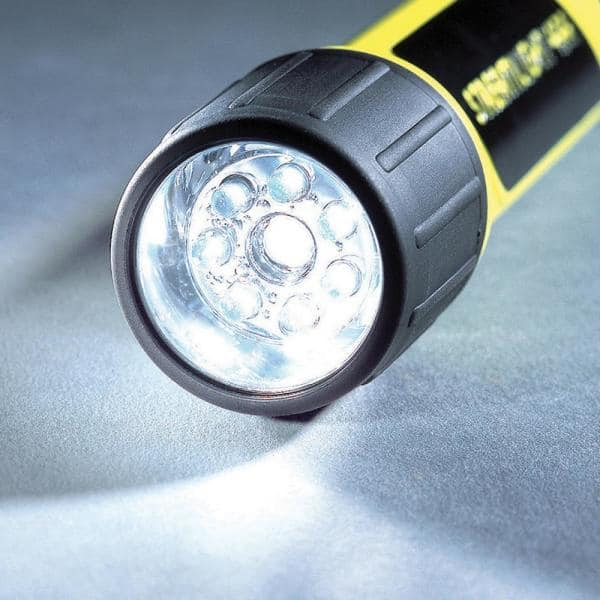 for sale online Yellow Streamlight ProPolymer 4AA LED Flashlight 68202