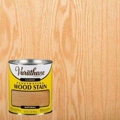 1 qt. Natural Classic Wood Interior Stain (2-Pack)