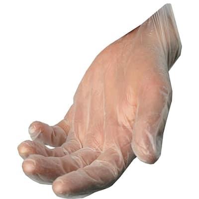 100-Count Disposable Vinyl Gloves