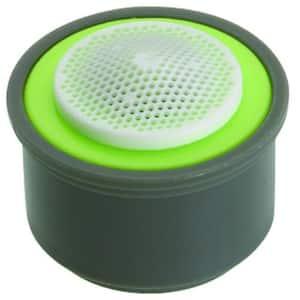 0.5 GPM Regular-Size Water-Saving PCA Spray Aerator Insert with Washers