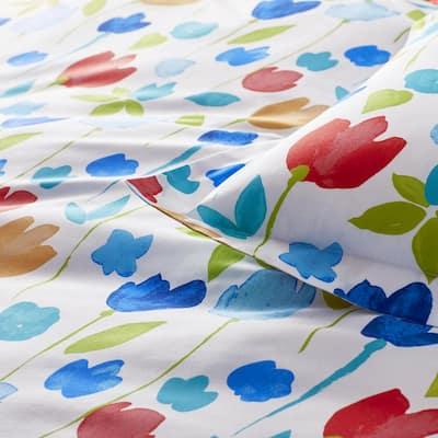 Company Cotton™ Tulips Multicolored Floral Percale Comforter