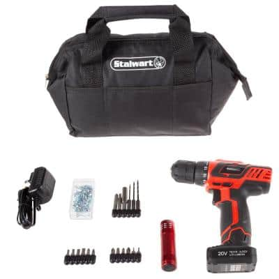 20-Volt Lithium-Ion Cordless 3/8 in. Power Drill (101-Piece)