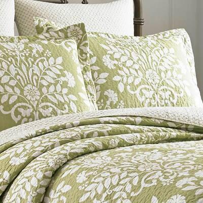 Rowland Floral Cotton Quilt Set