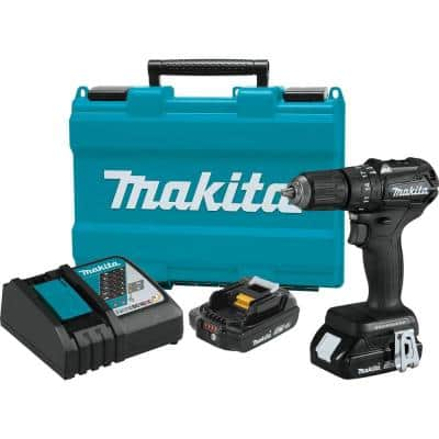 18-Volt 2.0Ah LXT Lithium-Ion Sub-Compact Brushless Cordless 1/2 in. Hammer Driver Drill Kit