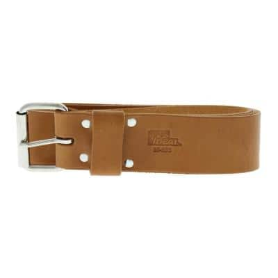 2 in. x 48 in. Premium Leather Roller Buckle Tool Belt Bag